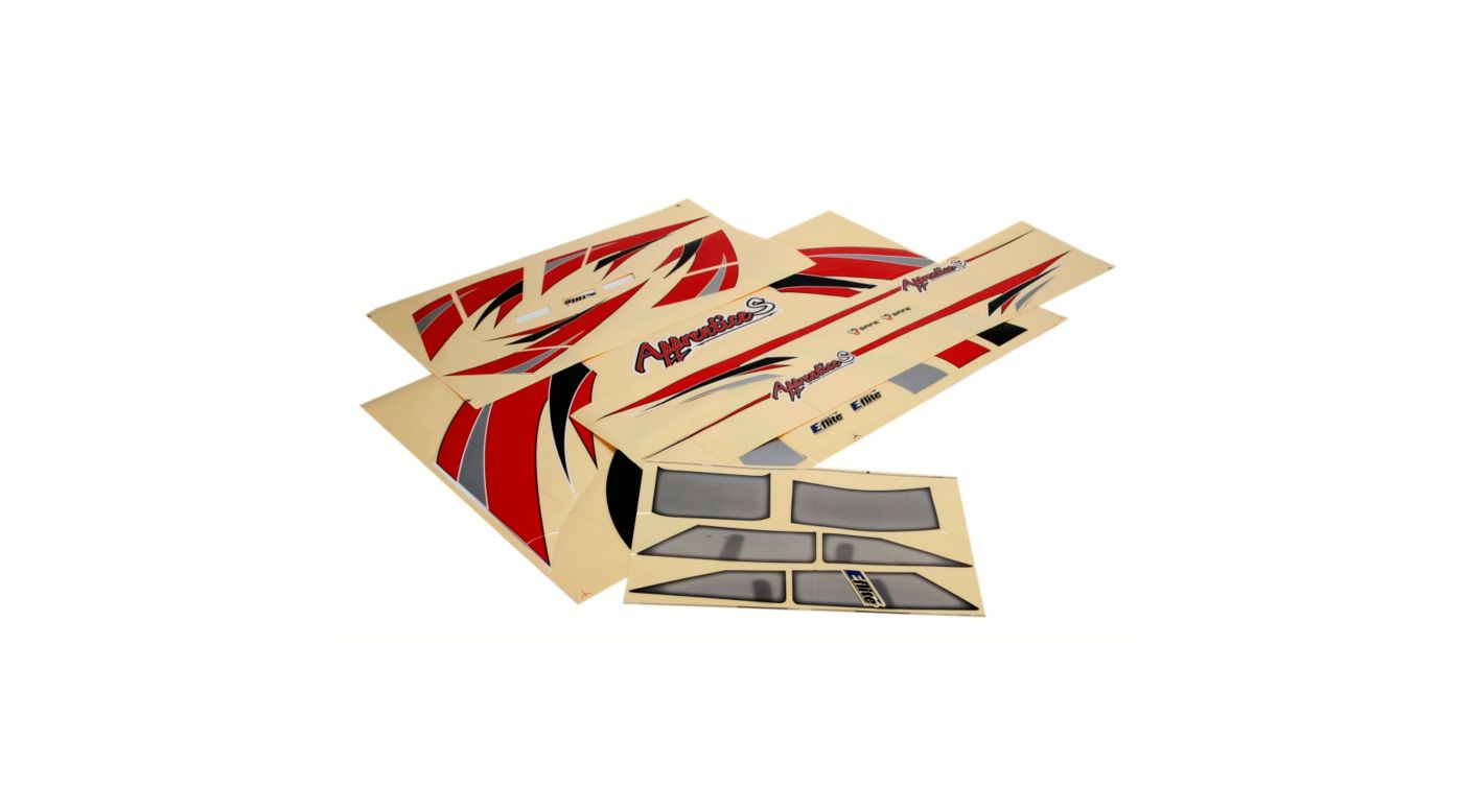 E-flite Decal Set: Apprentice S 15e RTF