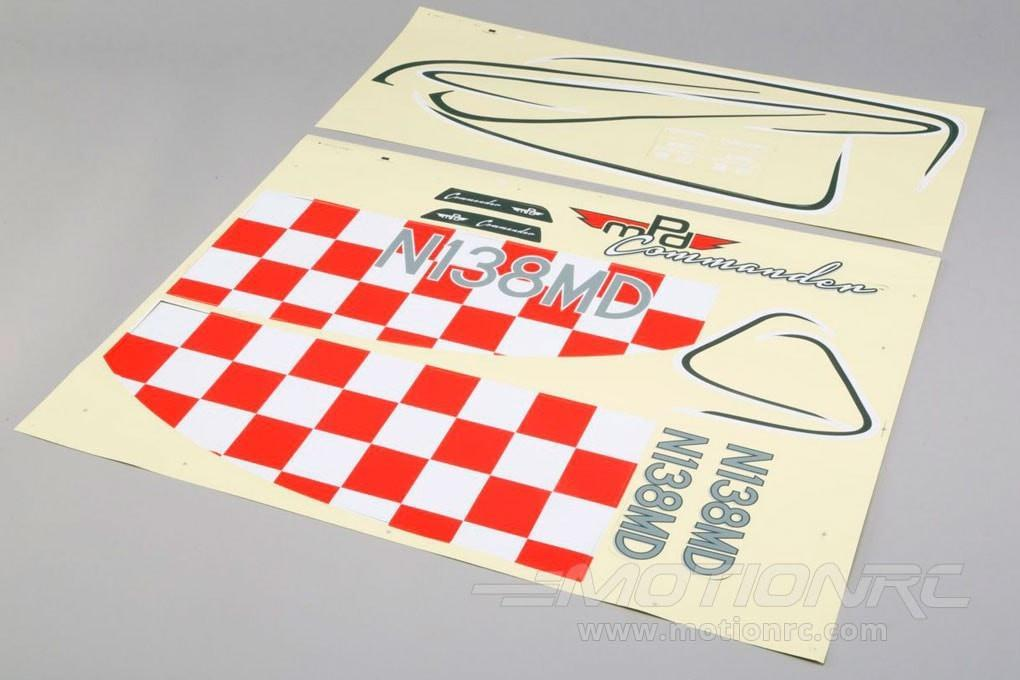 E-flite Decal Sheet: Commander mDp 1.4m - SNHE