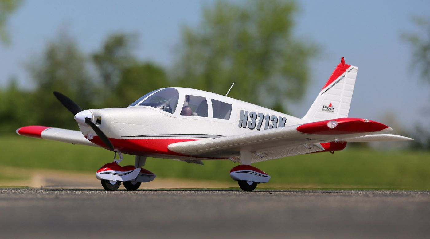 E-flite Cherokee 1.3m BNF Basic with AS3X and SAFE Select - SNHE