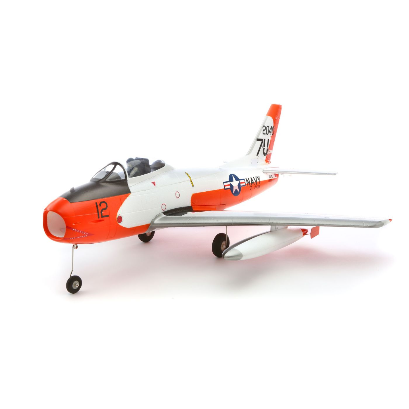 E-flite FJ-2 Fury 15 DF BNF Basic with AS3X® Technology - SNHE