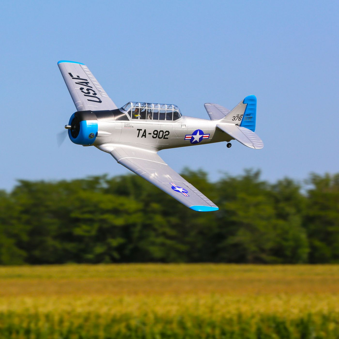 "E-flite AT-6 1.5m BNF Basic - <font color=""red""><b>FREE BATTERY PROMO</b></font>"