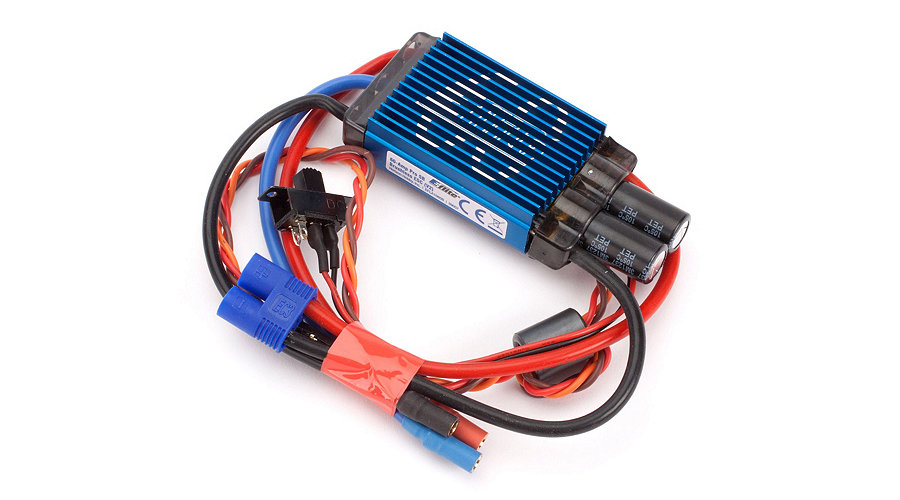E-flite 60-Amp Pro Switch-Mode BEC Brushless ESC (V2)