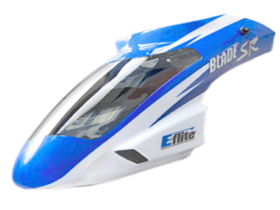 Blade SR Canopy, Blue: BSR - SNHE