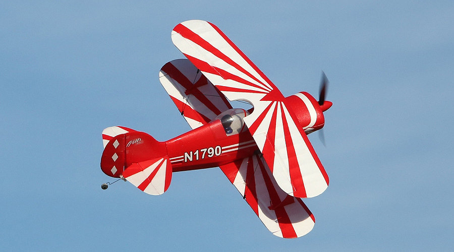 E-flite UMX™ Pitts S-1S BNF Basic with AS3X® Technology - SNHE