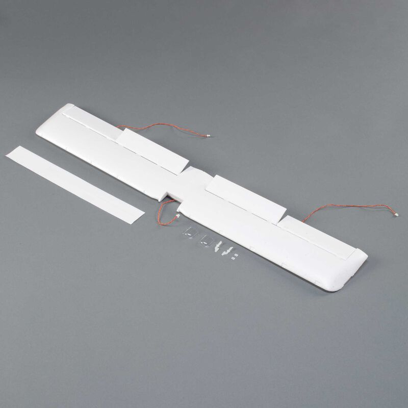 E-flite Wing with Servo & LED: UMX Turbo Timber