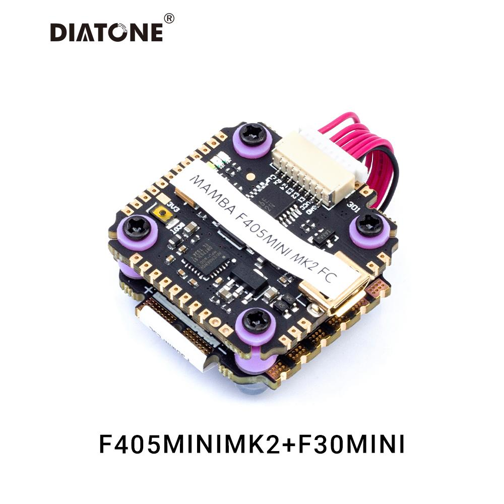 DIATONE MAMBA F405 <b>MINI MK2 30A</b> 3-5S FLIGHT CONTROLLER STACK
