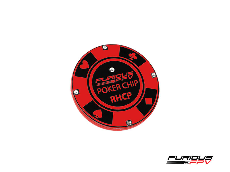 FURIOUS FPV - POKER CHIP ANTENNA RHCP NEW!