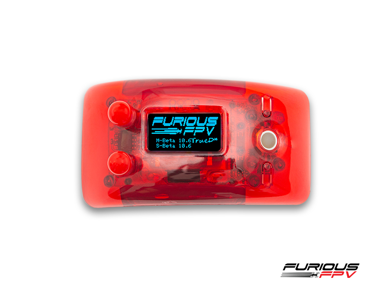 FURIOUS FPV <b>TRUE-D X</b> <font color=&quot;red&quot;><b>RED</b></font> (FOR FATSHARK DOMINATORS) - <font color=&quot;red&quot;><b>CURRENTLY OUT OF STOCK, PREORDER ONLY</b></font> - SNHE