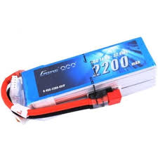 Gens ace 2200mAh 14.8V 45C 4S1P Lipo Battery Pack Deans plug - SNHE