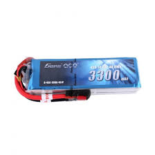 Gens ace 3300mAh 14.8V 45C 4S1P Lipo Battery Pack Deans plug - SNHE