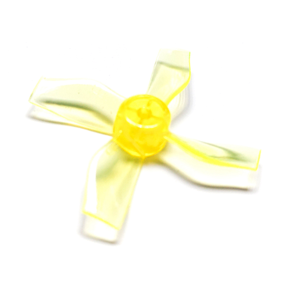 Gemfan <b>1220-4 Yellow</b> 31mm Whoop Props (1mm Hub)