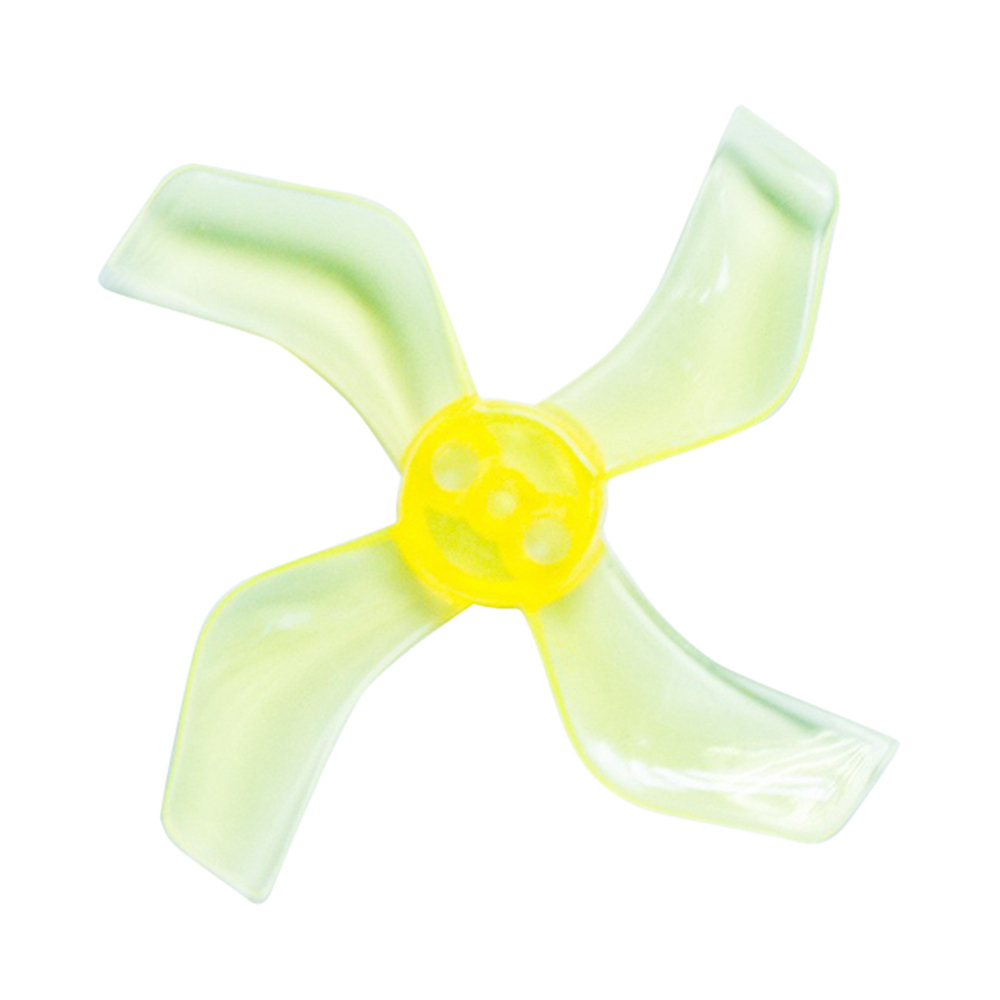 Gemfan <b>1636-4 Yellow</b> 40mm Whoop Props (1.5mm Hub)