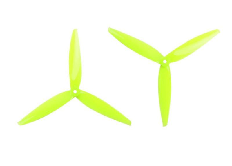 Gemfan <b>Flash 7040</b> Durable 3 Blade Propeller - <b>Yellow</b>