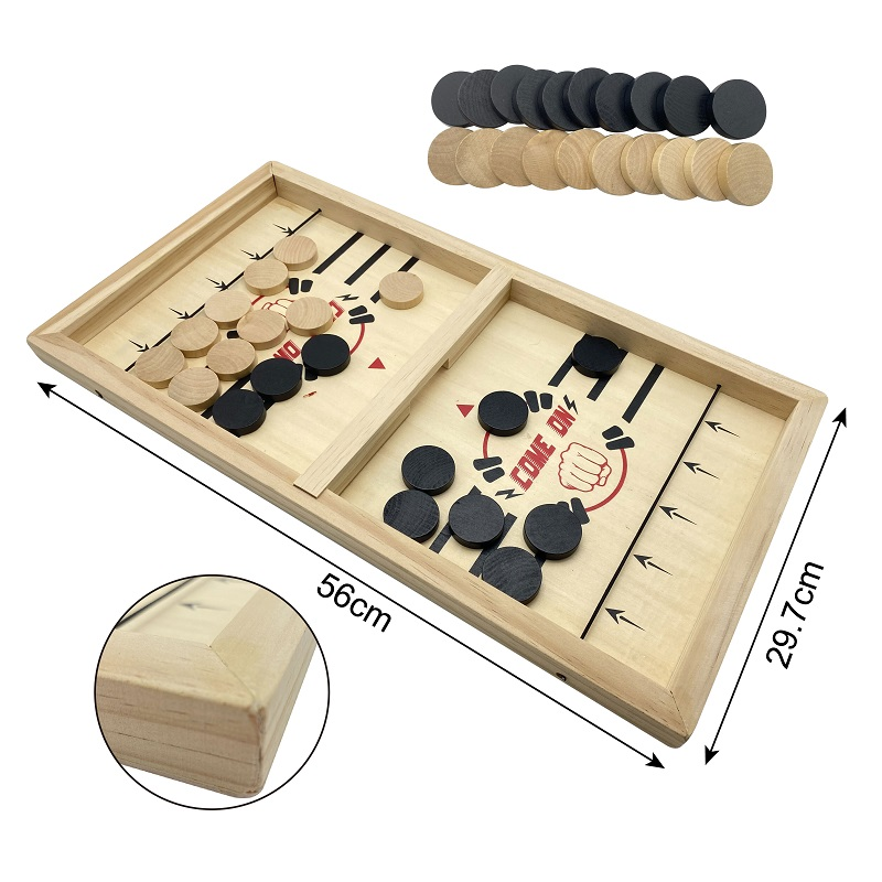 Fast Sling Puck game Paced Table Desktop Battle winner board game