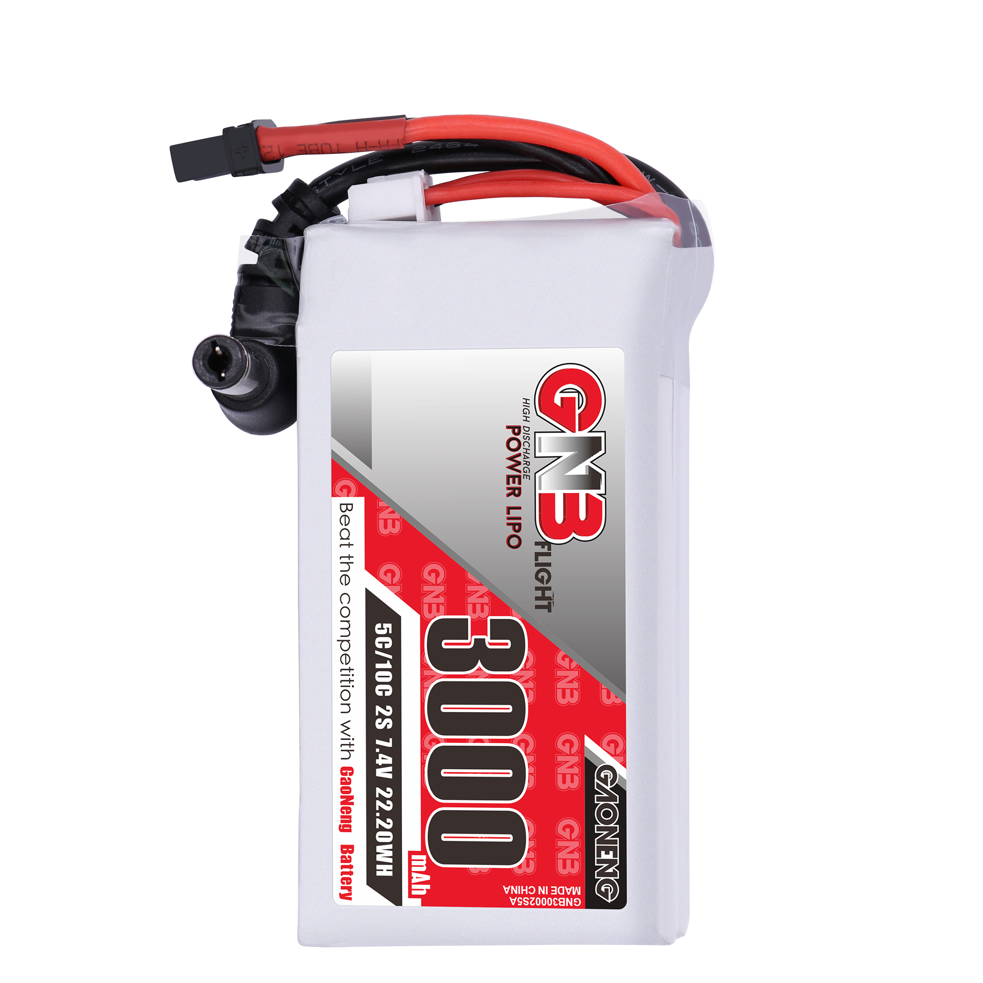 GNB 2S 3000mAh 7.4V  LiPo Battery for Fat Shark Goggles