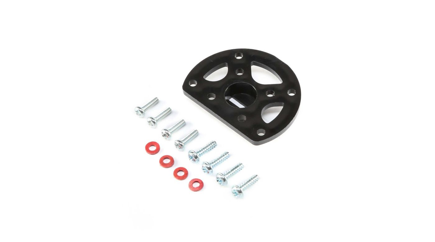 HobbyZone Motor Mount with Screws: Carbon Cub S+ 1.3m