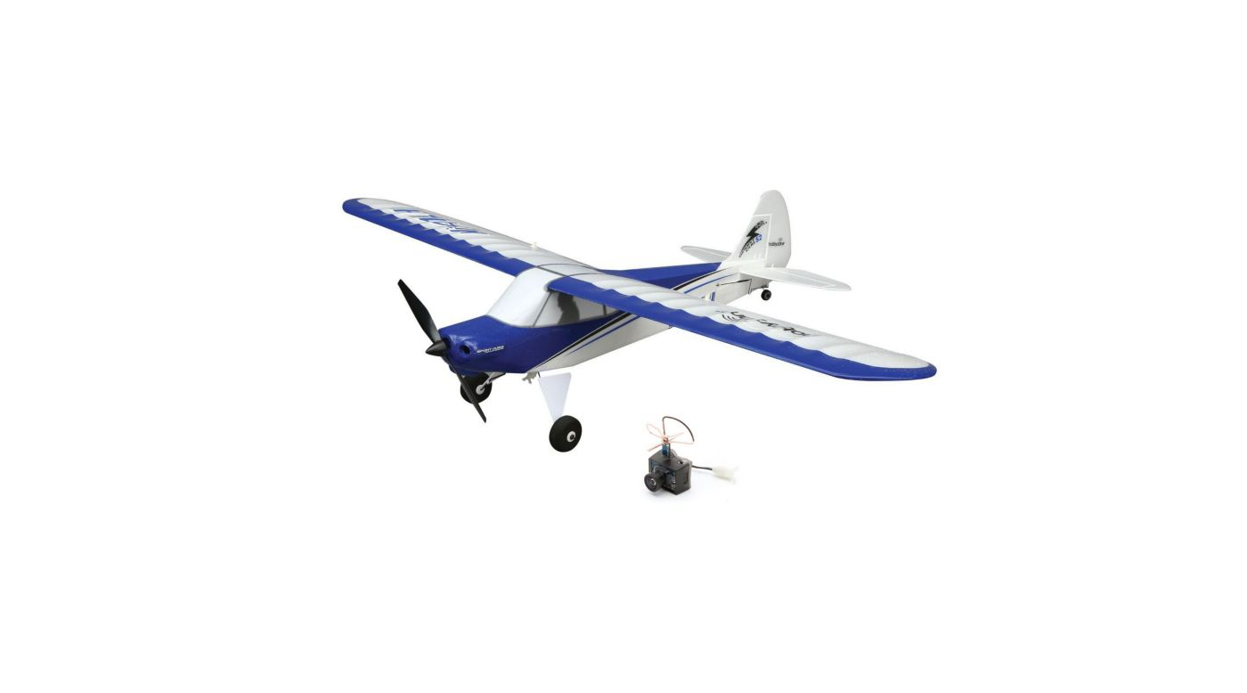 HobbyZone Sport Cub S BNF with UM FPV Transmitter & Camera