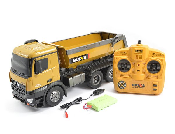 HUINA TOYS 1573 R/C 1/14 10CH 2.4GHZ RTR TIPPER DUMP TRUCK