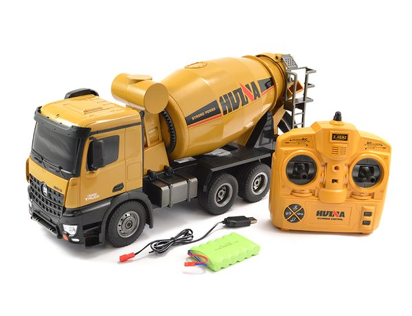 HUINA TOYS 1574 R/C 1/14 2.4G RTR CEMENT MIXER TRUCK