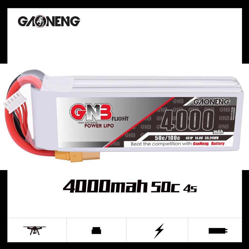 GNB 4S 4000MAH 50C LIPO BATTERY
