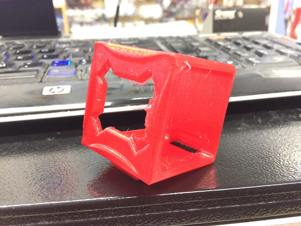 3D Printed Mount for GoPro/RunCam 3 - <font color=red><b>RED</b></font> - SNHE