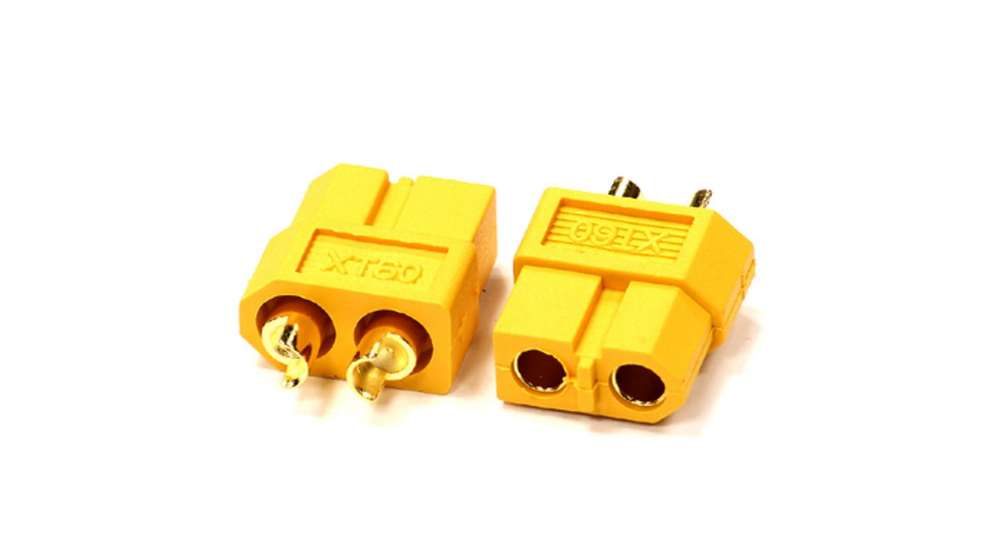 Integy XT60 Connector (2) Female 3.5mm