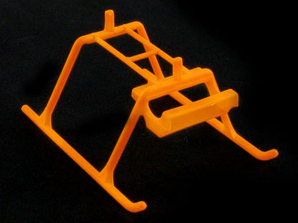 KBDD Extreme Edition MCPX Landing Skid - Orange