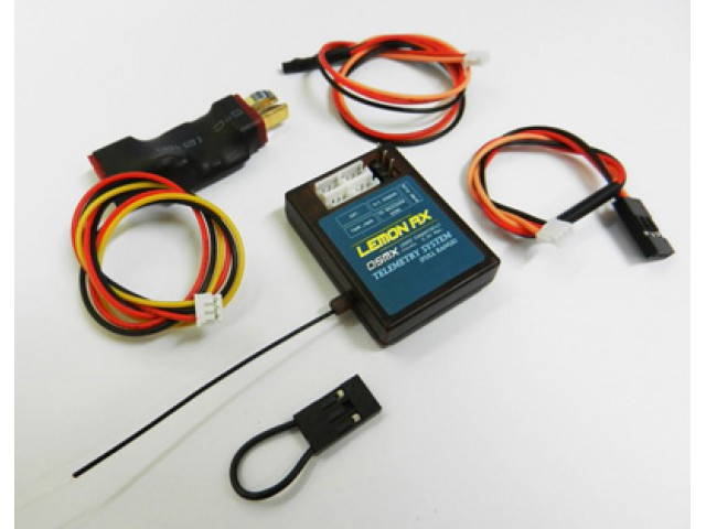 Lemon Rx DSMX Compatible (DSM2 Compatible) Full Range Telemetry System (T-plug package)