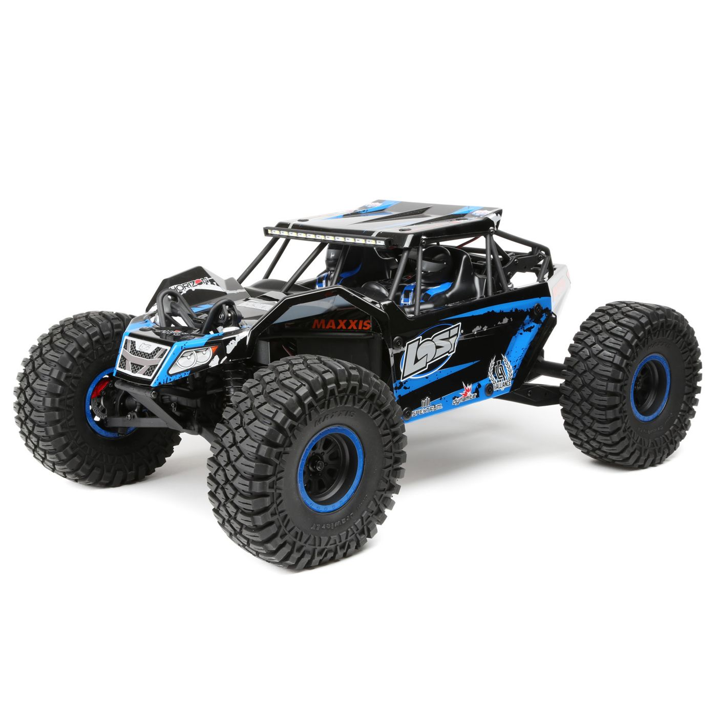 Losi 1/10 4wd Rock Rey RTR AVC Blue - SNHE
