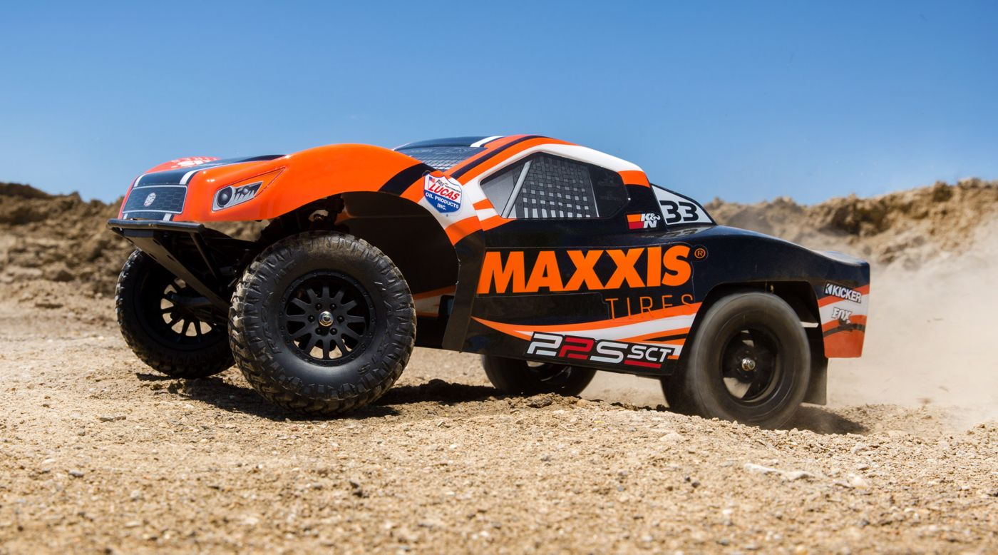 Losi 1/10 22S Maxxis 2WD SCT Brushless RTR with AVC - SNHE