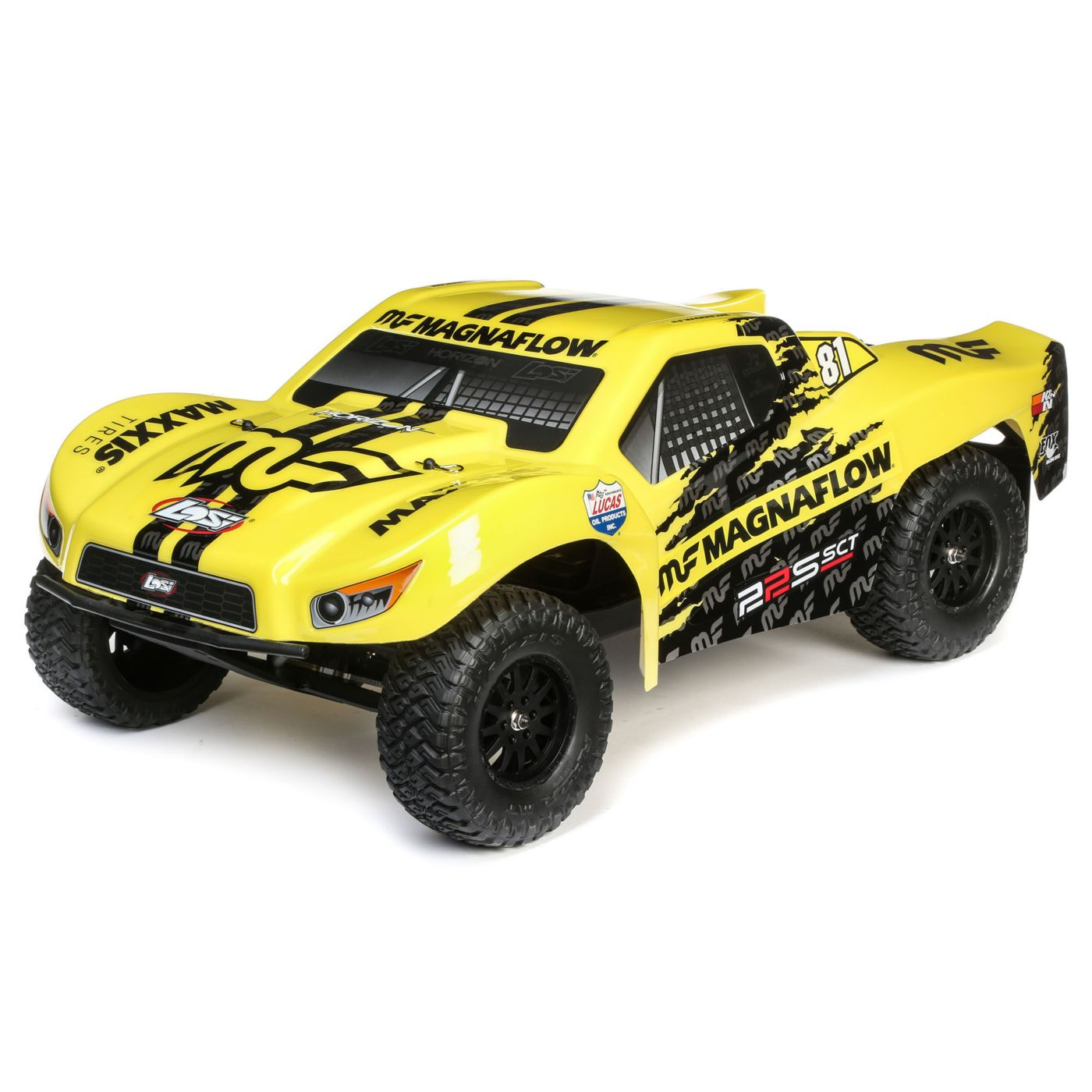 Losi 1/10 22S 2WD SCT Brushed RTR, MagnaFlow