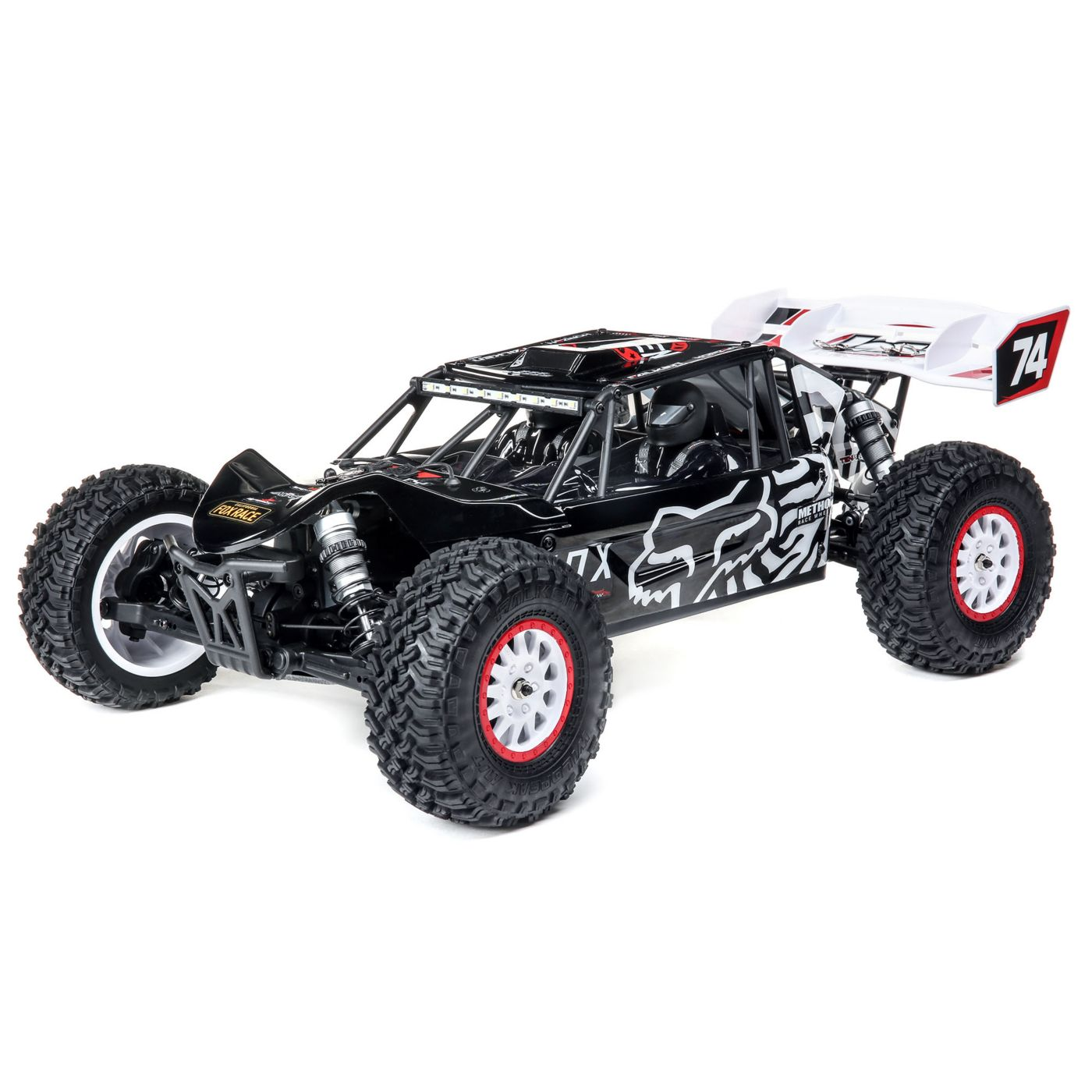 "Losi 1/10 Tenacity DB Pro 4WD Desert Buggy Brushless RTR with Smart, Fox Racing - <font color=""red""><b>FREE BATTERY PROMO</b></font>"