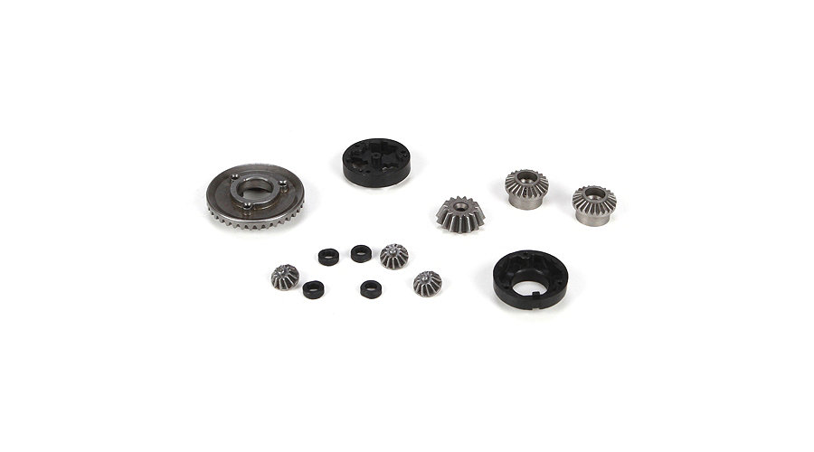 Losi F/R Diff Gear, Housing & Spacer Set: Mini 8IGHT