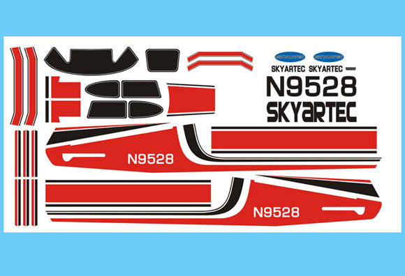 New Cessna 182 Stickers