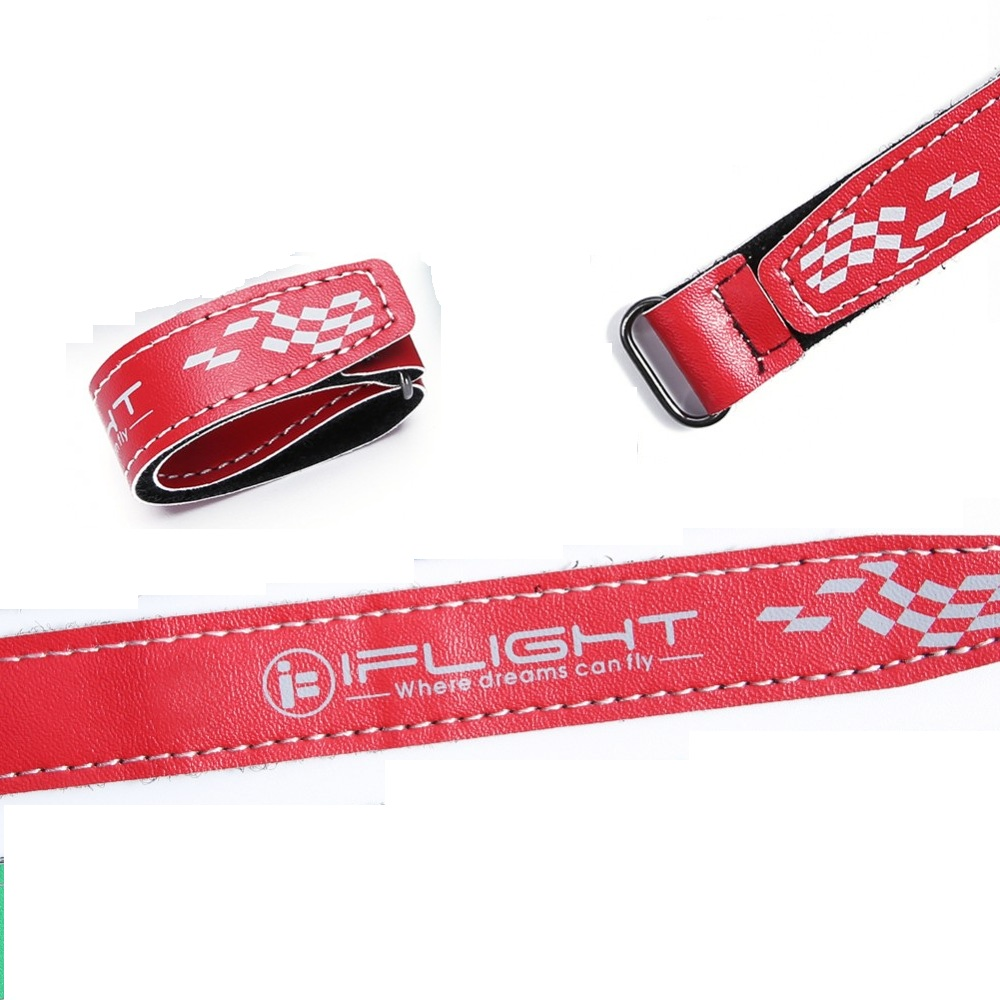 Iflight <b>20x250mm</b> Microfiber PU Leather Battery Straps (1pcs)