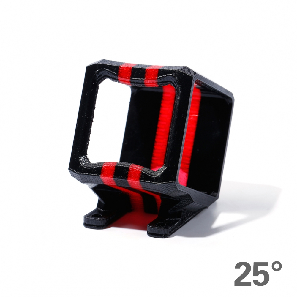 IFLIGHT MegaBee TPU 3D Printed GoPro Session Mount - 25°