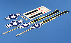 Decal Sheet: Micro P-51