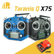FrSky Taranis <b>Q X7S</b> <b>Carbon</b> Transmitter with M7 Hall Sensor Gimbal - <font color=&quot;red&quot;><b>FREE FrSky R9M</b></font> - SNHE