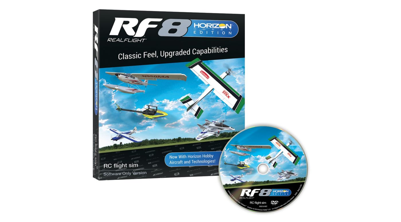RealFlight RF8 Horizon Hobby Edition, Software Only