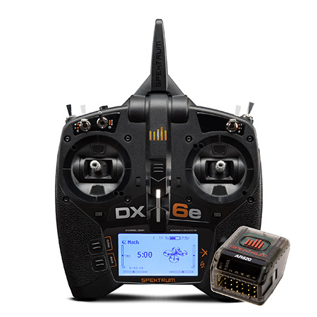 Spektrum DX6e 6-Channel DSMX Transmitter with AR620