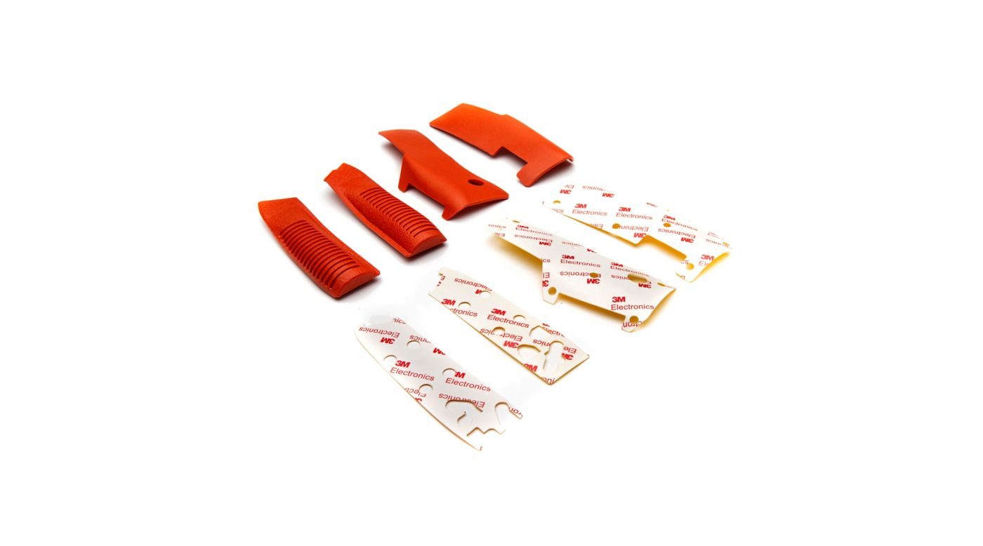 Spektrum Orange Grip Set with Tape: DX9