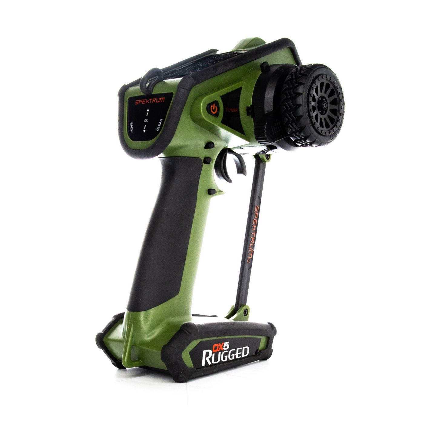 Spektrum DX5 Rugged 5-Channel DSMR Transmitter Only, Green