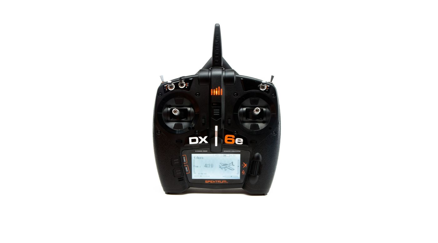 Spektrum DX6e 6-Channel DSMX Transmitter Only - SNHE