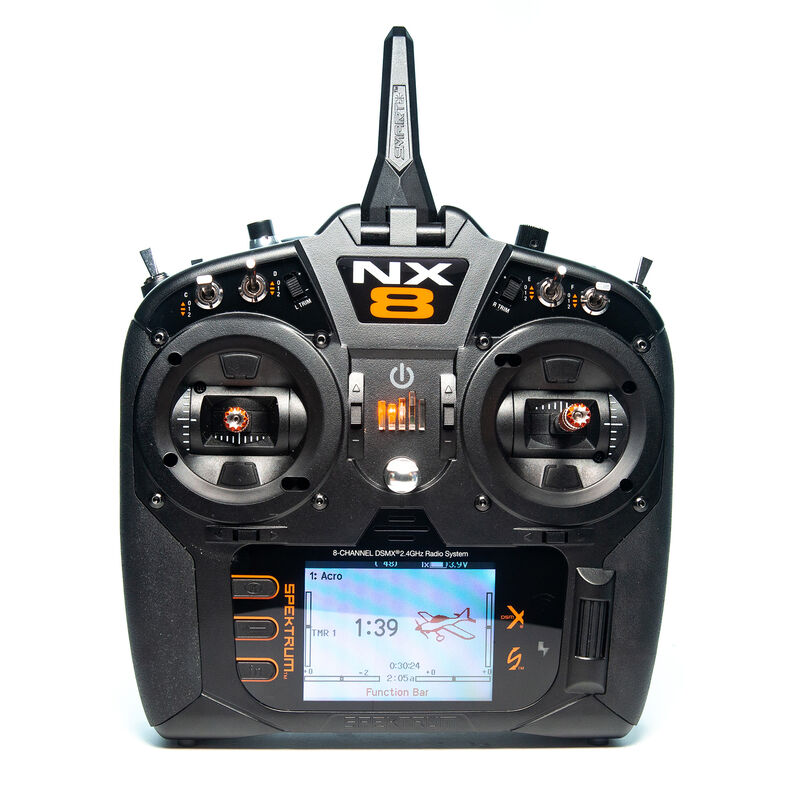 "Spektrum NX8 8-Channel DSMX Transmitter Only - <font color=""red""><b>(PREORDER)</b></font>"