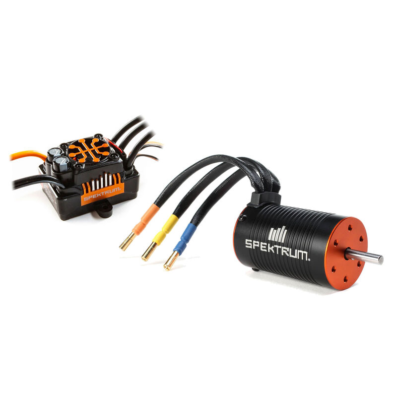 Spektrum Firma 130A Brushless Smart ESC / 1900Kv Sensorless Motor Combo