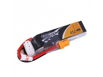 Tattu 450mAh 7.4V 75C 2S1P Lipo Battery Pack with XT30 plug - L