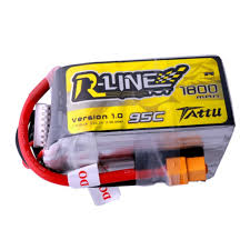 Tattu <b>R-Line 22.2V 1800mah</b> 6S 95C FPV Lipo Battery with XT60 Plug