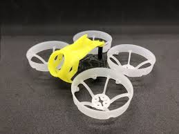 FullSpeed RC TinyLeader HD Version Brushless Whoop Frame KIT <b>(Yellow Canopy)</b>