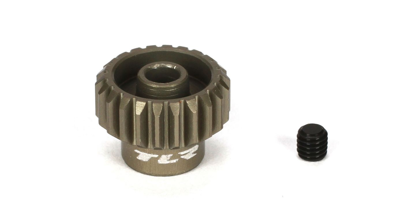 TLR 48P Aluminum Pinion Gear, 22T