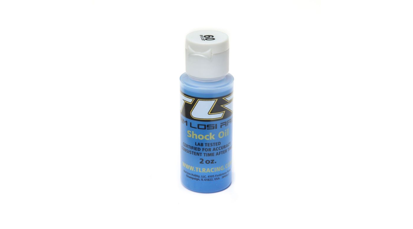 TLR Silicone Shock Oil, 60wt, 2oz